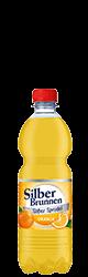 SilberBrunnen Süßer Sprudel Orange im20×0,5l-Kischtle