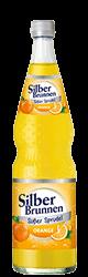SilberBrunnen Süßer Sprudel Orange im12×0,7l-Kischtle