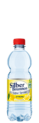 SilberBrunnen Süßer Sprudel Zitrone im20×0,5l-Kischtle
