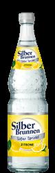 SilberBrunnen Süßer Sprudel Zitrone im12×0,7l-Kischtle