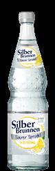 SilberBrunnen Saurer Sprudel + Zitrone im12×0,7l-Kischtle